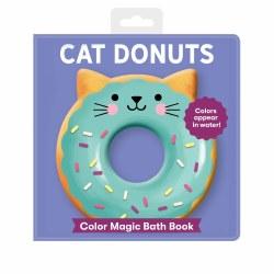 Cat Donuts Bath Book
