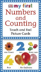 Touch and Feel Cards Numbers