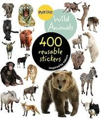 Eye Like Stickers Wild Animals