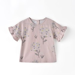 Julie Blouse Dusty Pink 18m