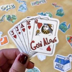 Goin' Alone Sticker