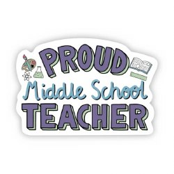 Proud Middle School Teacher