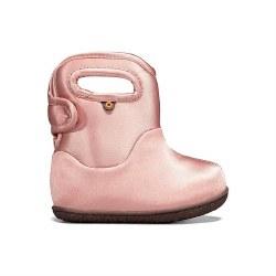 Baby Bogs Metallic Pink 10