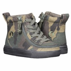 High Top Green Camo Tots 8