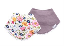 Fashion Trimmed Bib Isabella