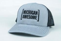 Michigan Trucker Hat Navy