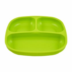 Divided Plates Green