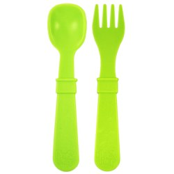 Utensil Pair Green