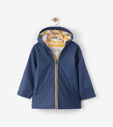 Splash Jacket Navy/Yellow 2