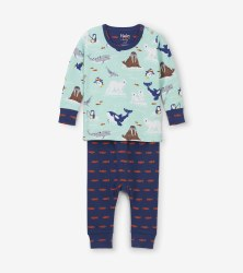 Mini PJ Set Arctic 3-6m