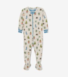 Footed Coverall Snug Bugs 6-9m
