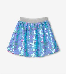 Purple Sequin Skirt 4
