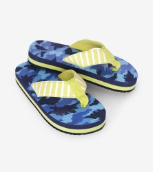 Flip Flops Dino Camo Medium