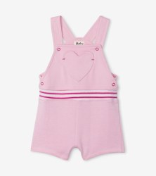 Candy Pink Overalls 9-12m