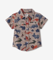 Safari Button Down 12-18m