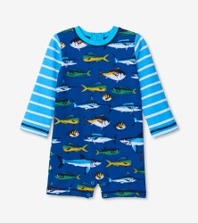 Baby Rash Guard Fish 12-18m