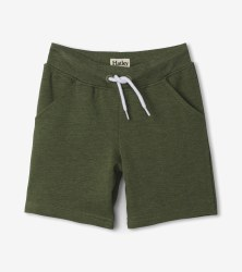 Moss Melange Terry Short 2