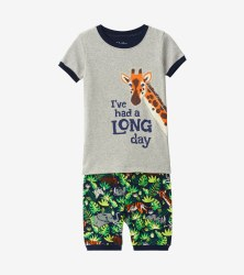 Short PJ Set Jungle 5T