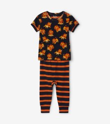 S/S PJ Set Little Cubs 9-12m