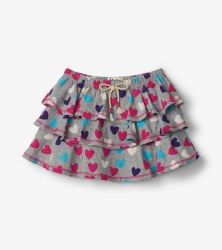 Hearts Ruffle Skirt 4