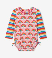 Baby Rash Guard Rainbow 12-18m