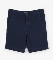 Navy Twill Shorts 5