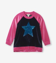 Flip Sequin Star Pullover 6