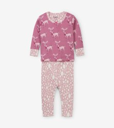 Mini PJ Set Darling Deer 12-18