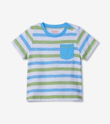 Sea Stripe Tee 12-18m