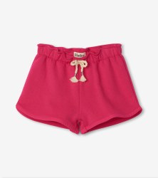 Fuchsia Terry Shorts 3