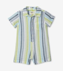 Seaside Stripe Romper 6-9m