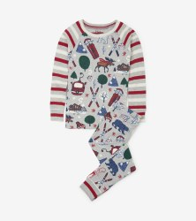 PJ Set Winter Tradition 5T