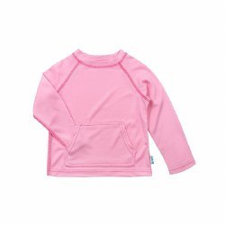 Breathable Sun Shirt Pink 6-12m