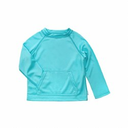 Breathable Sun Shirt Aqua 6-12m