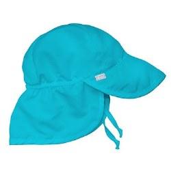 Flap Sun Hat Aqua 0-6m