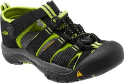Newport H2 Youth Black/Lime 1Y