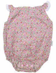 Floral Sunsuit 0-3m