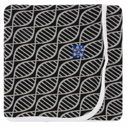 Swaddling Blankets Midnight Double Helix