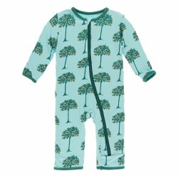 Coveralls Orange Trees 12-18m