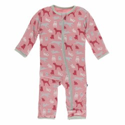 Coverall Berry Animals 9-12m