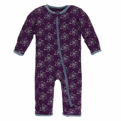 Coverall Grape Atoms 0-3m