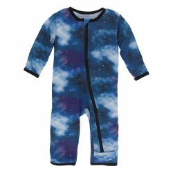 Coverall Grape Galaxy 0-3m