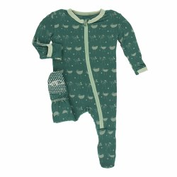 Footie Ivy Chickens 3-6m