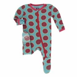 Footie Watermelon 3-6m