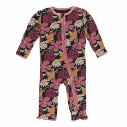 Muffin Coverall Market Flowers 18-24m
