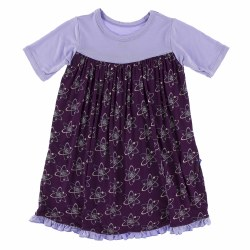 Swing Dress Grape Atoms 3T