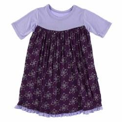 Swing Dress Grape Atoms 3T