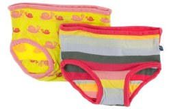 Underwear Banana Snails 2T/3T