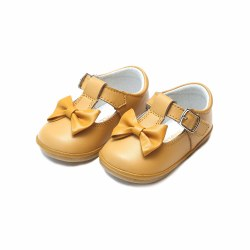 Minni Bow Mary Jane Mustard 3T