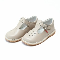Joy T-Strap Mary Jane Almond 5T